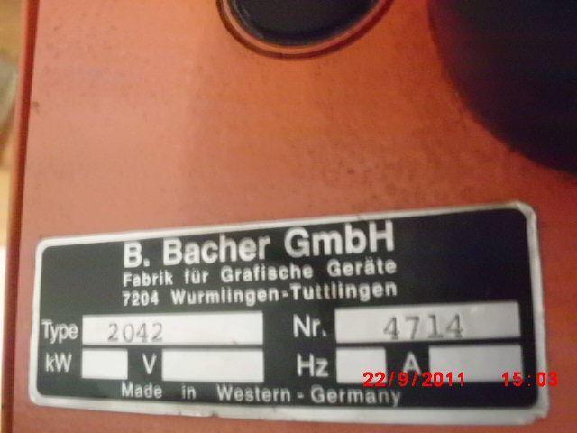 BACHER 2000, Year : 0, ref.14895 | www.coci-sa.com/en | 14895n_2.jpg