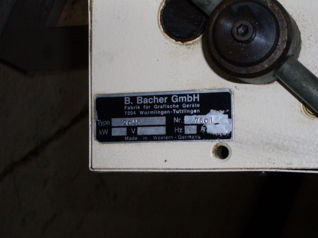 BACHER 2045, Year : 1998, ref.41788 | www.coci-sa.com/en | 41788.jpg