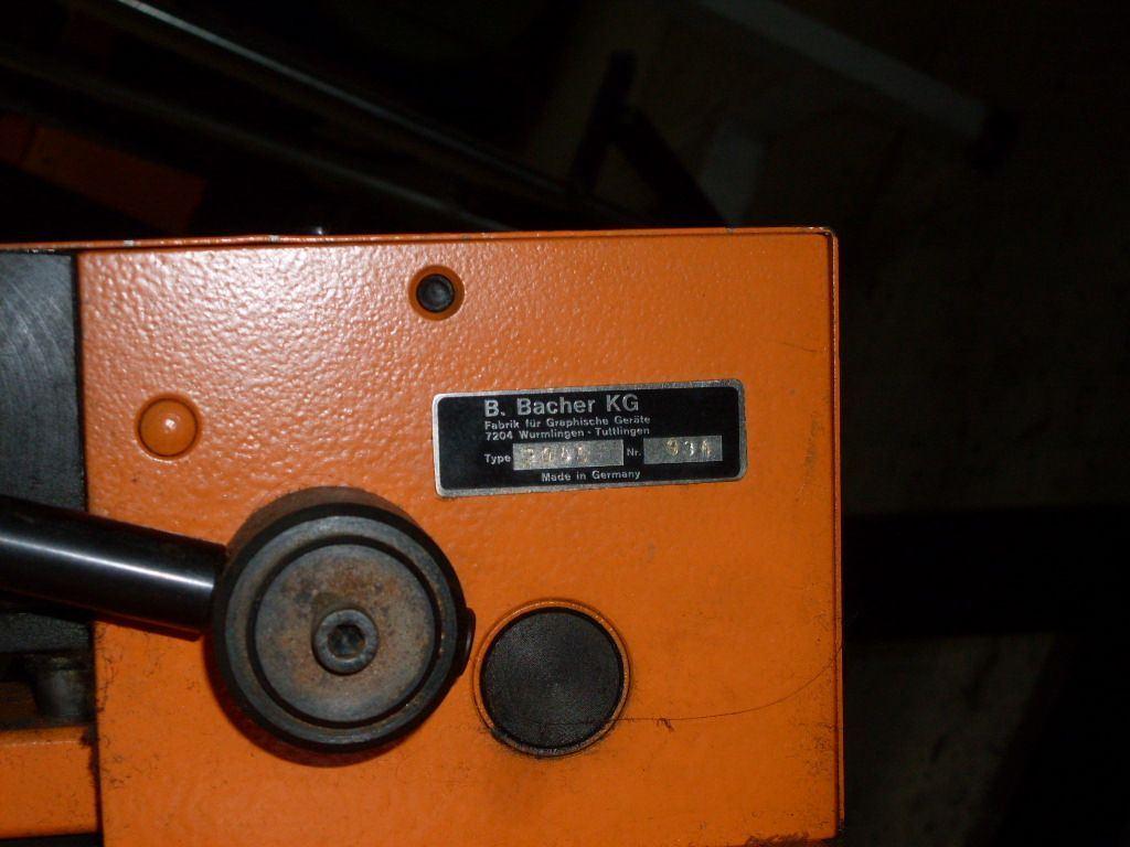 BACHER 2045, Year : 1996, ref.41812 | www.coci-sa.com/en | 41812.jpg