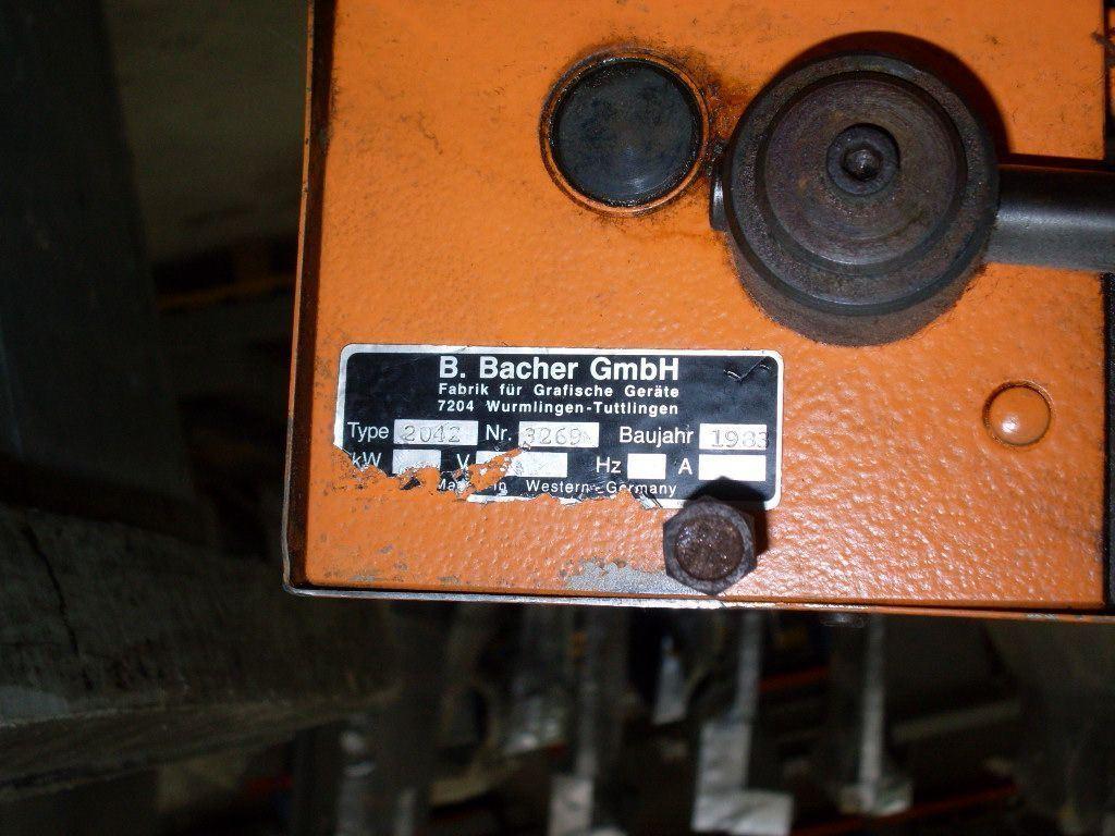 BACHER 2042, Year : 1983, ref.41813 | www.coci-sa.com/en | 41813.jpg
