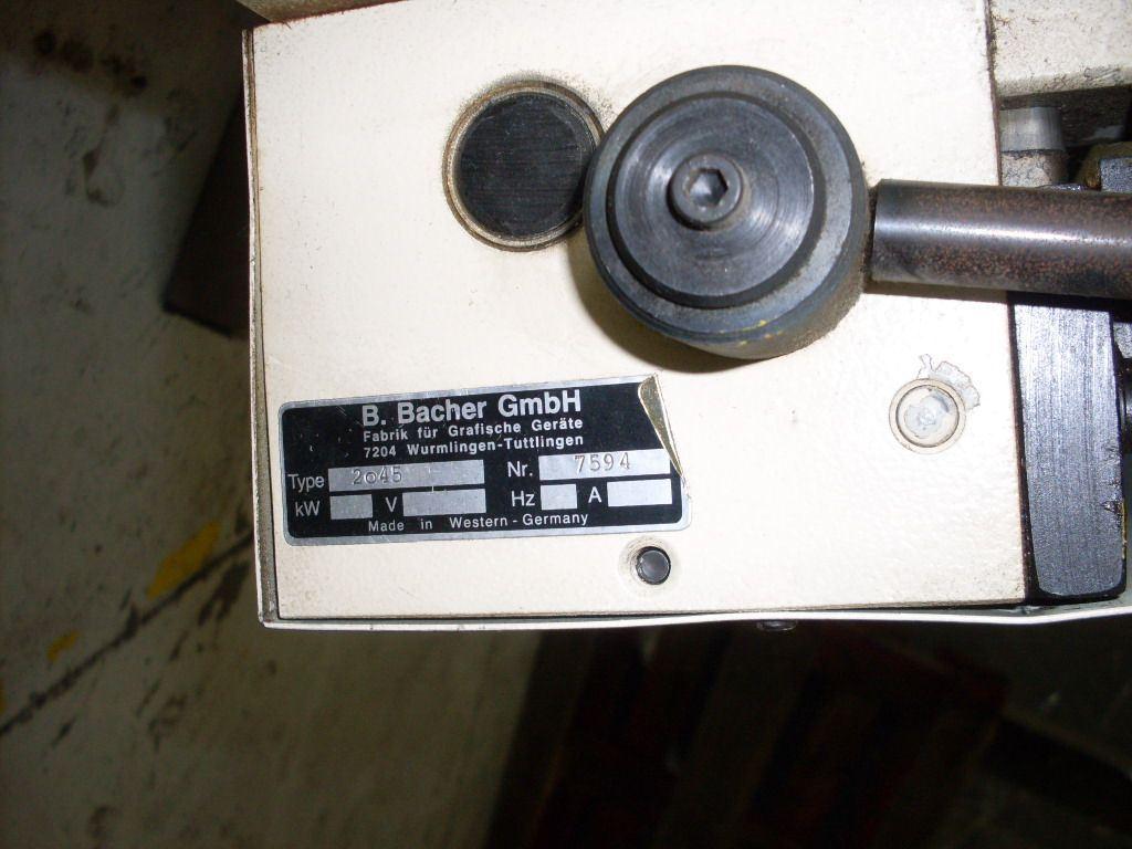 BACHER 2045, Year : 1996, ref.41814 | www.coci-sa.com/en | 41814.jpg