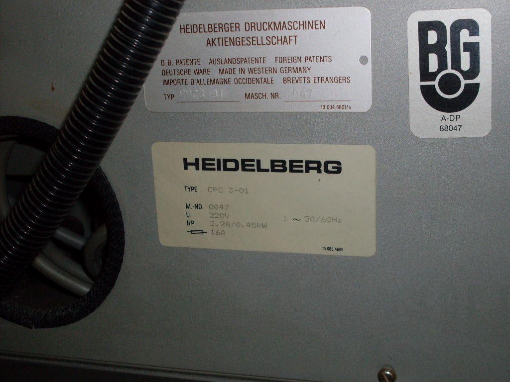 HEIDELBERG CPC 3 01, Year : 0, ref.41837 | www.coci-sa.com/en | 41837.jpg