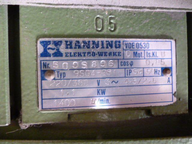 DRILLER-M-C--4-HEADS HANNING, Year : 1990, ref.48017 | www.coci-sa.com/en | 48017n.jpg