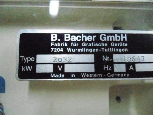 BACHER 2032, Year : 1996, ref.51211 | www.coci-sa.com/en | 51211n.jpg