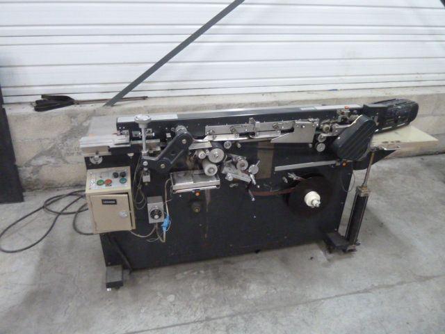 UCHIDA SPINE TAPING MACHINE, Year : 1990, ref.54719 | www.coci-sa.com/en | 54719n.jpg