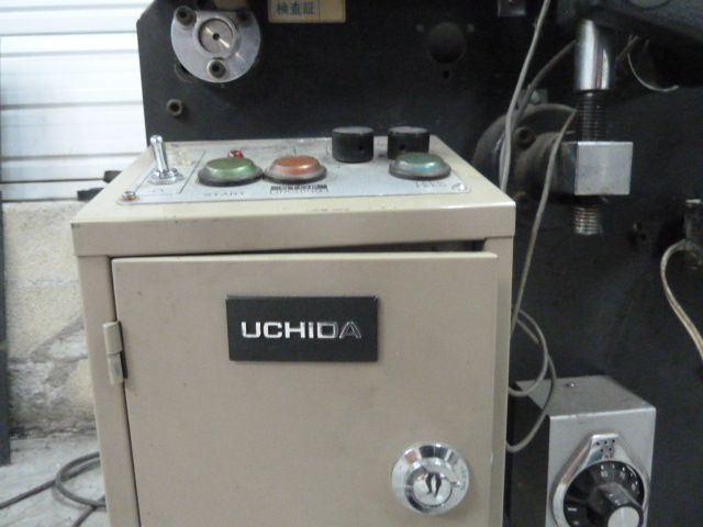 UCHIDA SPINE TAPING MACHINE, Year : 1990, ref.54719 | www.coci-sa.com/en | 54719n_2.jpg