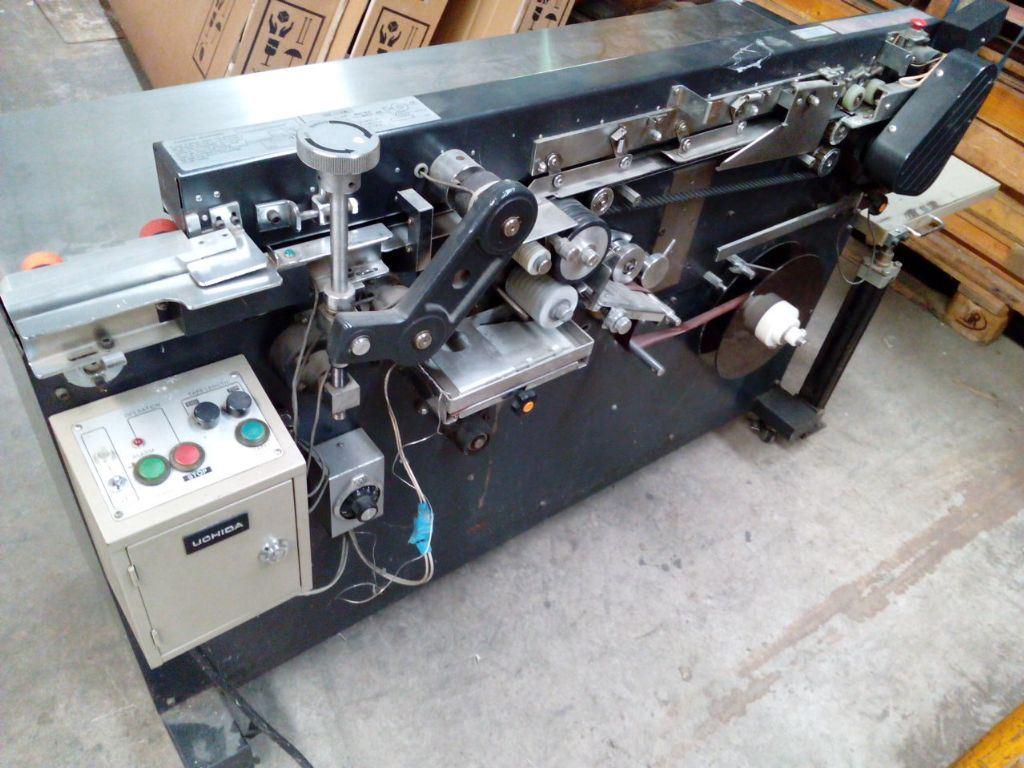 UCHIDA SPINE TAPING MACHINE, Year : 1990, ref.54719 | www.coci-sa.com/en | 54719n_6.jpg