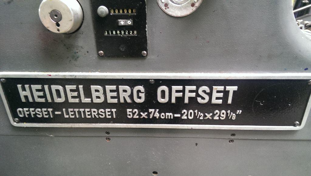 HEIDELBERG SORM, Year : 1974, ref.56648 | www.coci-sa.com/en | 56648n_3.jpg