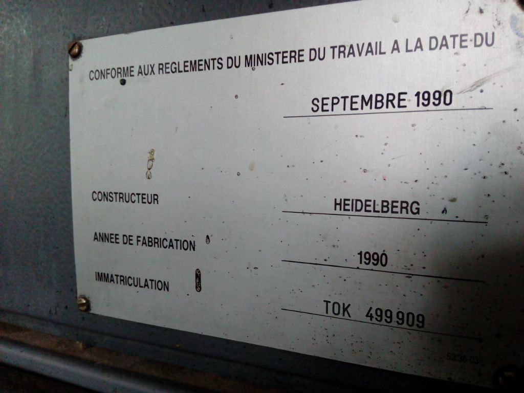 HEIDELBERG TOK, Year : 1990, ref.56993 | www.coci-sa.com/en | 56993n_3.jpg
