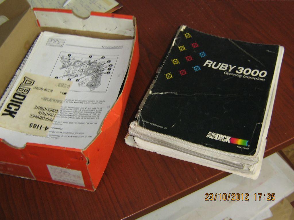 AB-DICK 9910D, Year : 1995, ref.59559 | www.coci-sa.com/en | 59559n_8.jpg