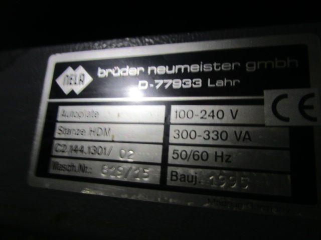 PUNCH HEIDELBERG AUTOPLATE, Year : 1995, ref.59635 | www.coci-sa.com/en | 59635n_2.jpg