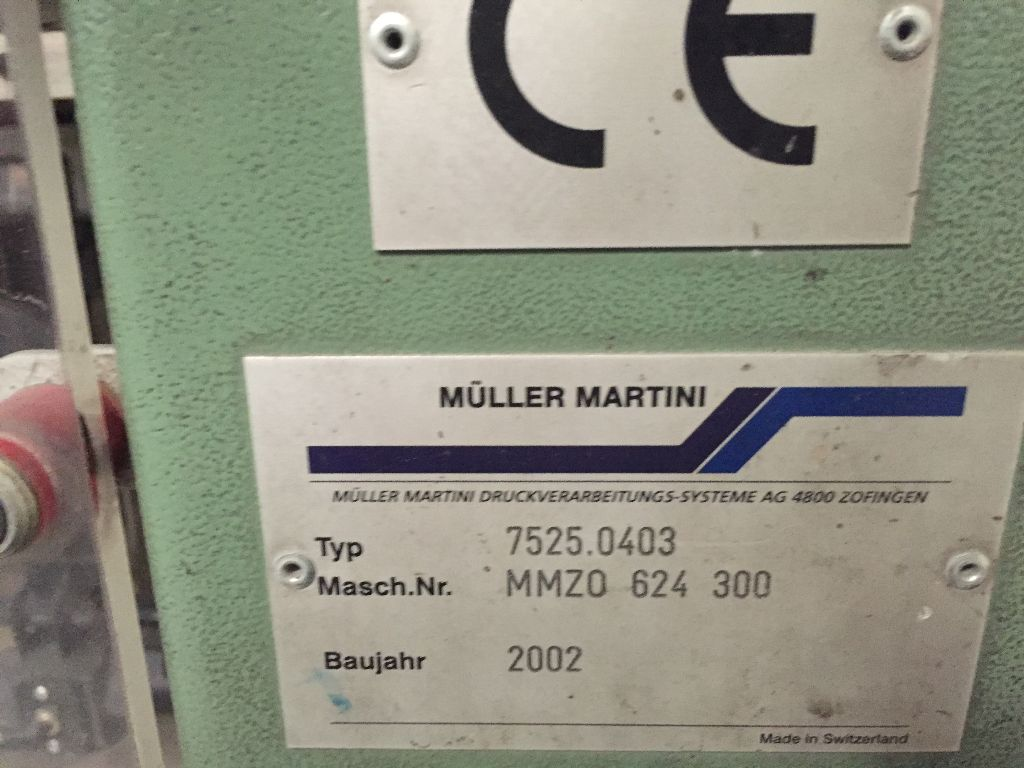 MULLER-MARTINI STACKER, Year : 2002, ref.60329 | www.coci-sa.com/en | 60329n_1.jpg
