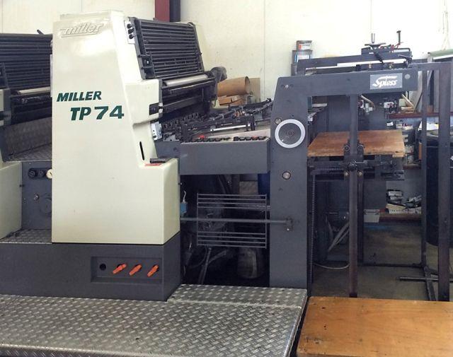 MILLER TP 74 2, Year : 1988, ref.60733 | www.coci-sa.com/en | 60733n_2.jpg