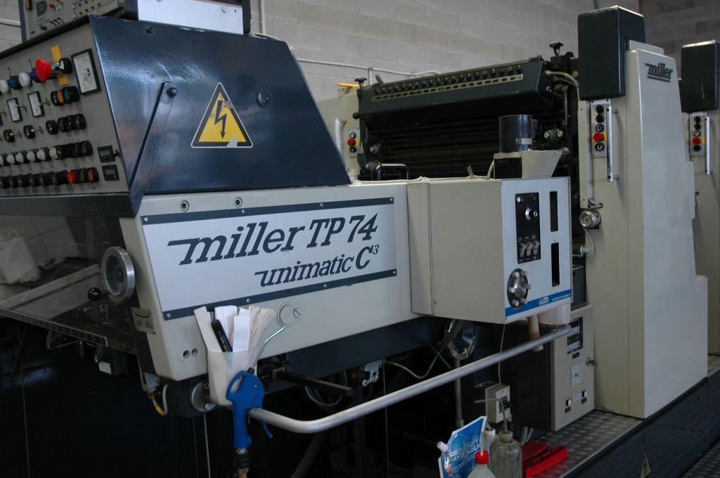 MILLER TP74 5P, Year : 1988, ref.61122 | www.coci-sa.com/en | 61122n_1.jpg