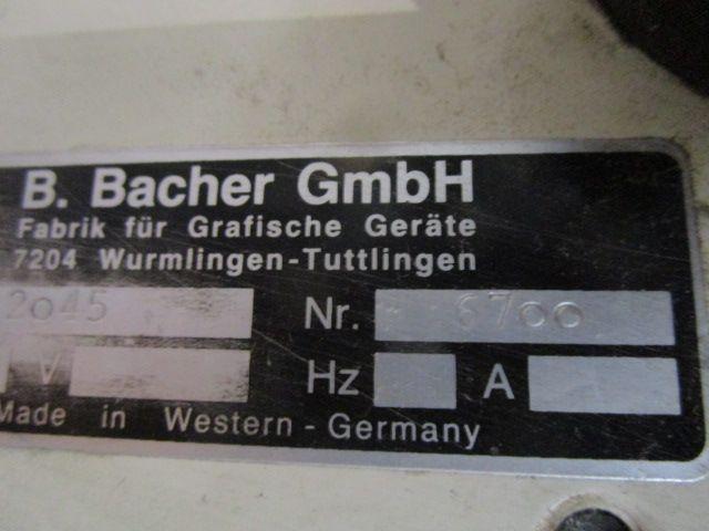 BACHER 2045, Year : 1995, ref.63031 | www.coci-sa.com/en | 63031n.jpg