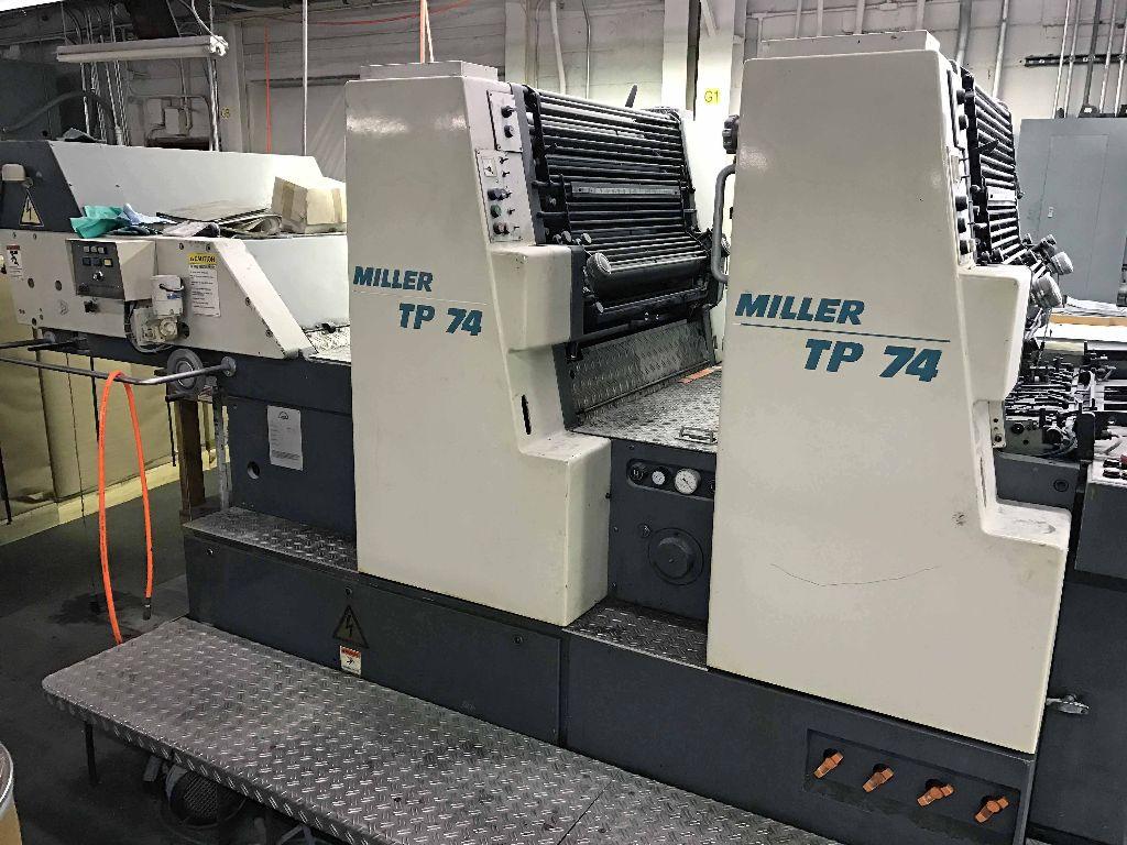 MILLER TP 74 2, Year : 1992, ref.63527 | www.coci-sa.com/en | 63527n_2.jpg