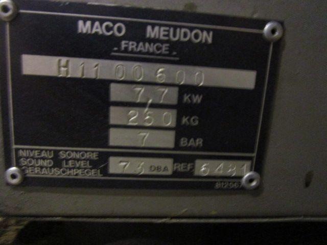 COMPRESSOR MACO INDUSTRIES, Year : 2000, ref.63612 | www.coci-sa.com/en | 63612n.jpg