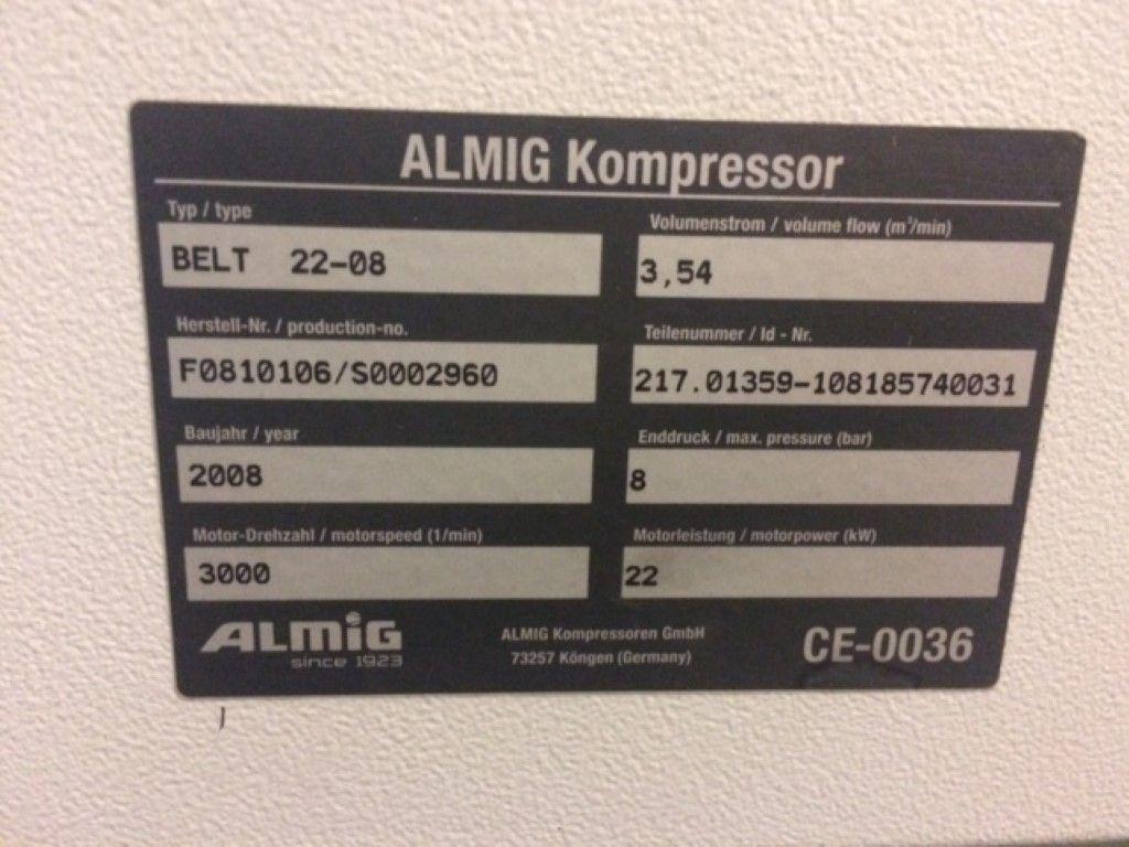 COMPRESSOR ALMIG, Año: 2008, ref.63834 | www.coci-sa.com/es | 63834n_1.jpg