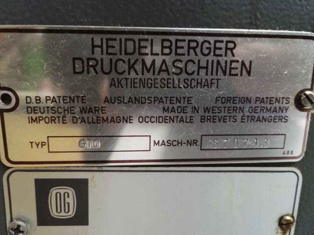 HEIDELBERG GTO 46, Year : 1980, ref.64540 | www.coci-sa.com/en | 64540n_1.jpg