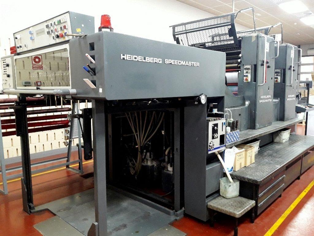 HEIDELBERG SPEED 102 Z, Year : 1992, ref.64614   www.coci-sa.com/en   64614n_4.jpg