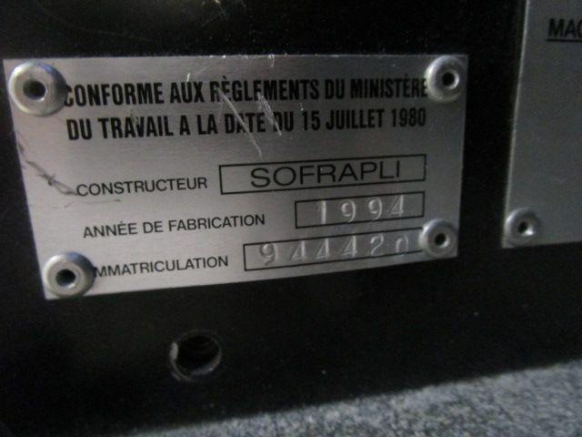 SOFRAPLI A3, Year : 1994, ref.65247   www.coci-sa.com/en   65247n_2.jpg