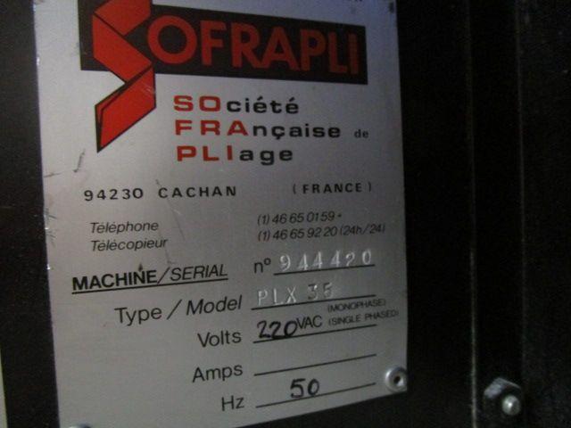 SOFRAPLI A3, Year : 1994, ref.65247   www.coci-sa.com/en   65247n_3.jpg