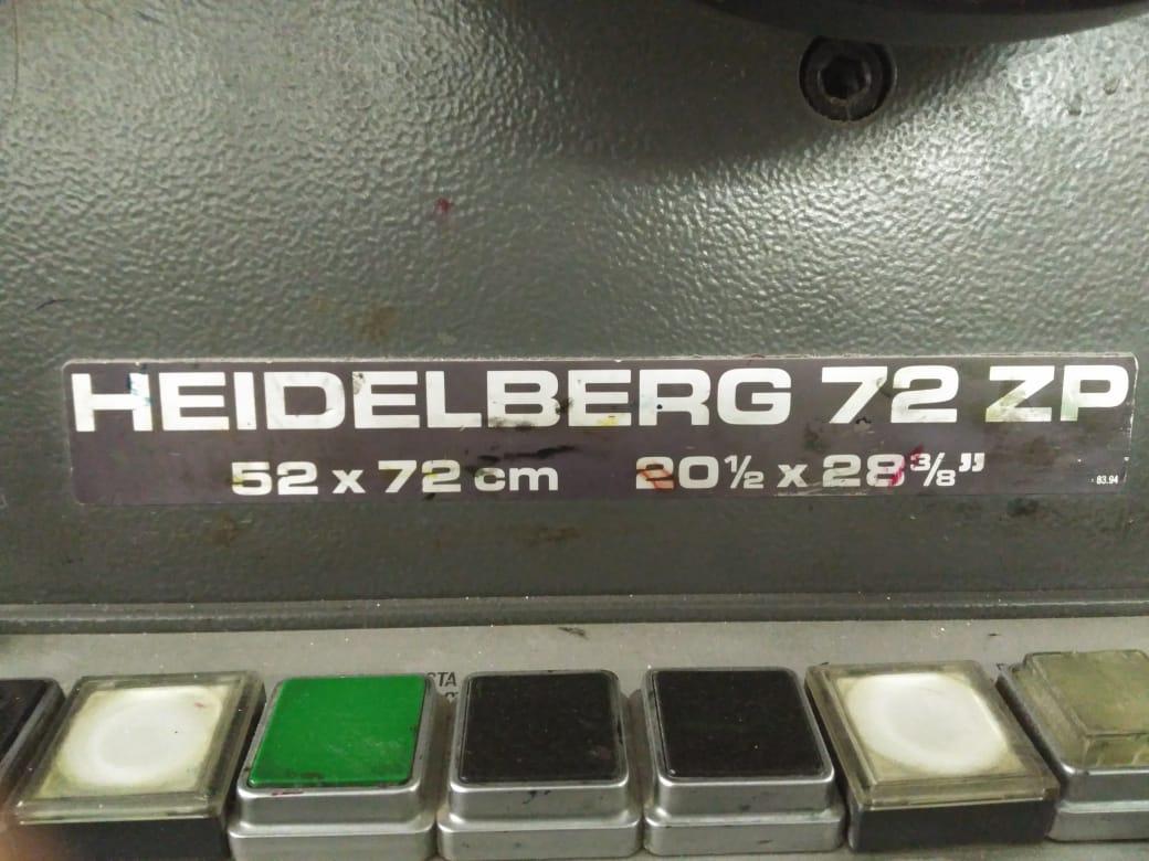 HEIDELBERG SPEED 72 ZP, Year : 1987, ref.65678   www.coci-sa.com/en   65678n_5.jpg