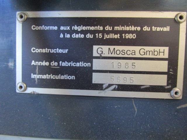 STRAPPING-MACHINE MOSCA, Year : 1985, ref.65905 | www.coci-sa.com/en | 65905n_3.jpg