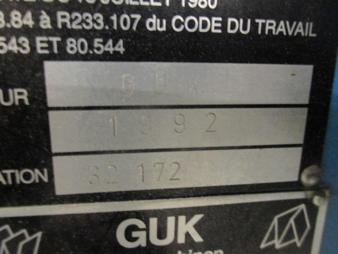 GUK 49 4 4 K, Year : 1992, ref.66162 | www.coci-sa.com/en | 66162n_14.jpg