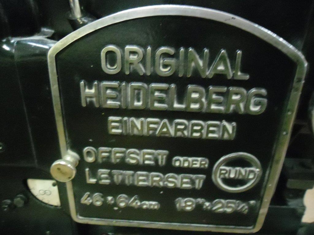 HEIDELBERG KORD 64, Year : 1970, ref.66233   www.coci-sa.com/en   66233n.jpg