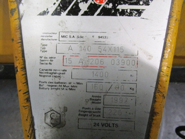 HANDLING-MATERIAL MIC, Year : 1992, ref.66268 | www.coci-sa.com/ru | 66268n_1.jpg