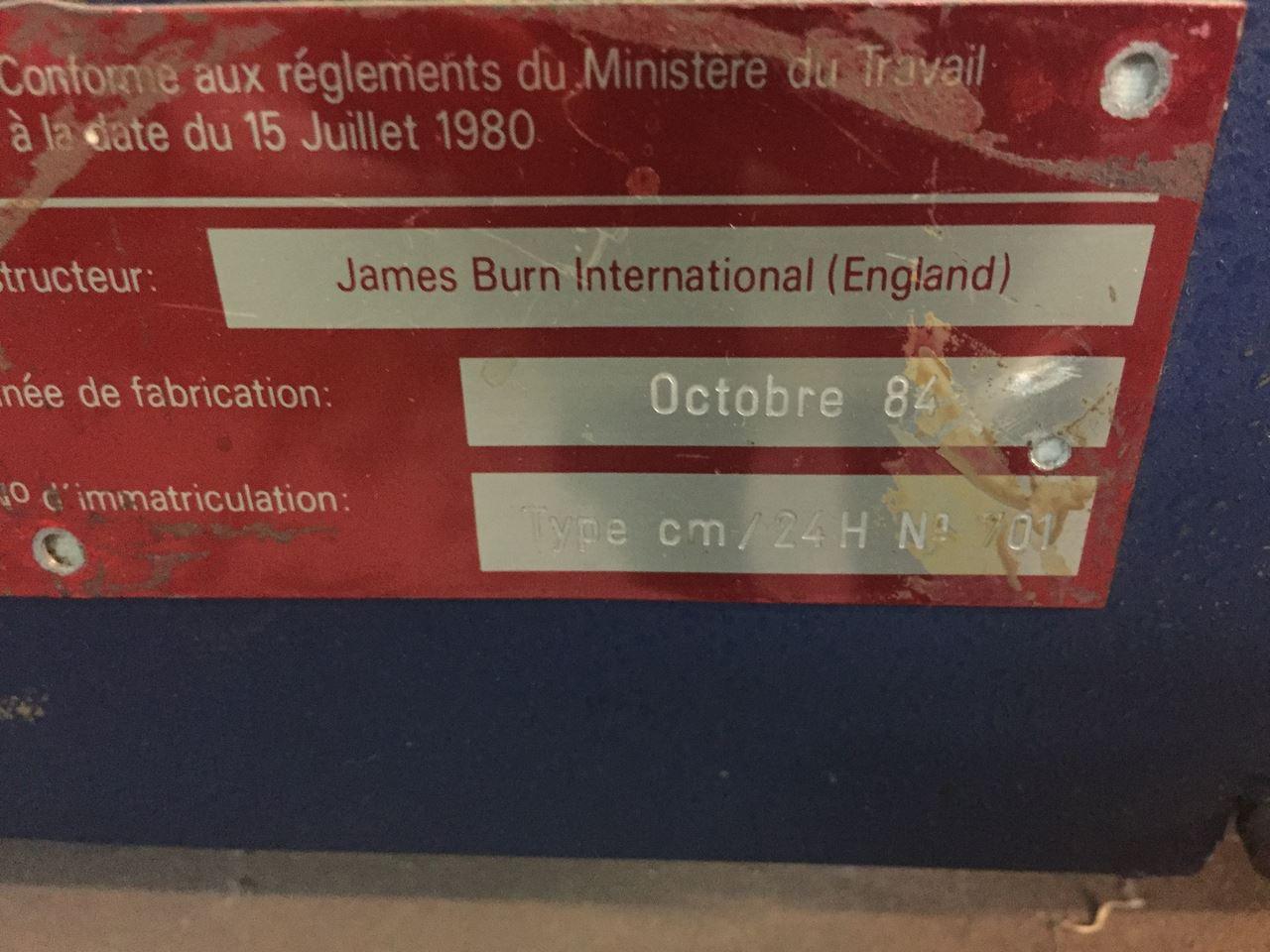 JAMES-BURN-INTERNATIONAL WIRE O, Year : 1984, ref.66432 | www.coci-sa.com/en | 66432n_2.jpg