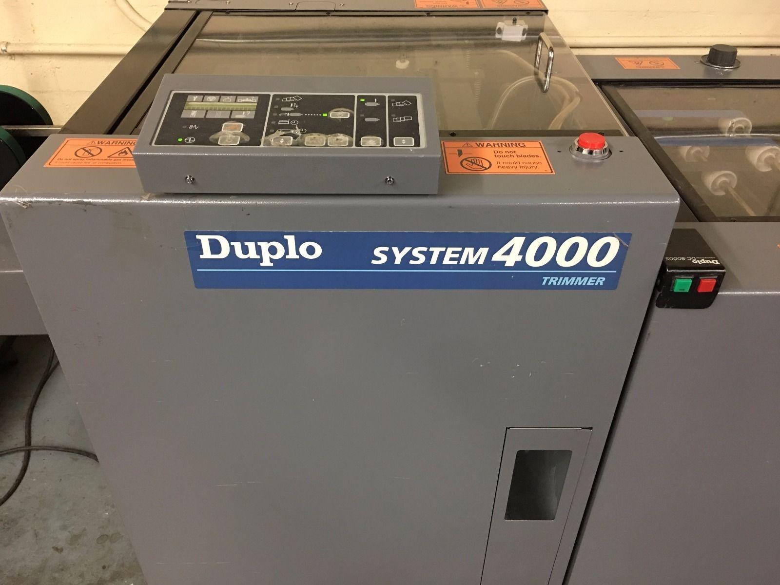 DUPLO DC 4000, Year : 2002, ref.66470 | www.coci-sa.com/en | 66470n_2.jpg