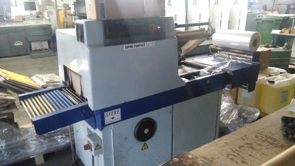 WRAPPING-MACHINE SFERE EMBALLAGE, Année :  2002, ref.67060 | www.coci-sa.com/fr | 67060n.jpg