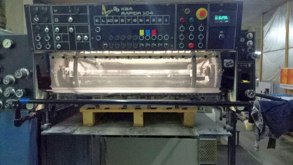 KOENIG-BAUER RAPIDA 104 5 LX, Year : 1997, ref.67221 | www.coci-sa.com/en | 67221n_2.jpg