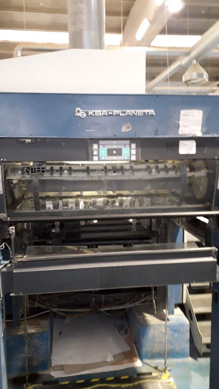 KOENIG-BAUER RAPIDA 105 5   LX, Year : 2001, ref.67622   www.coci-sa.com/en   67622n_1.jpg