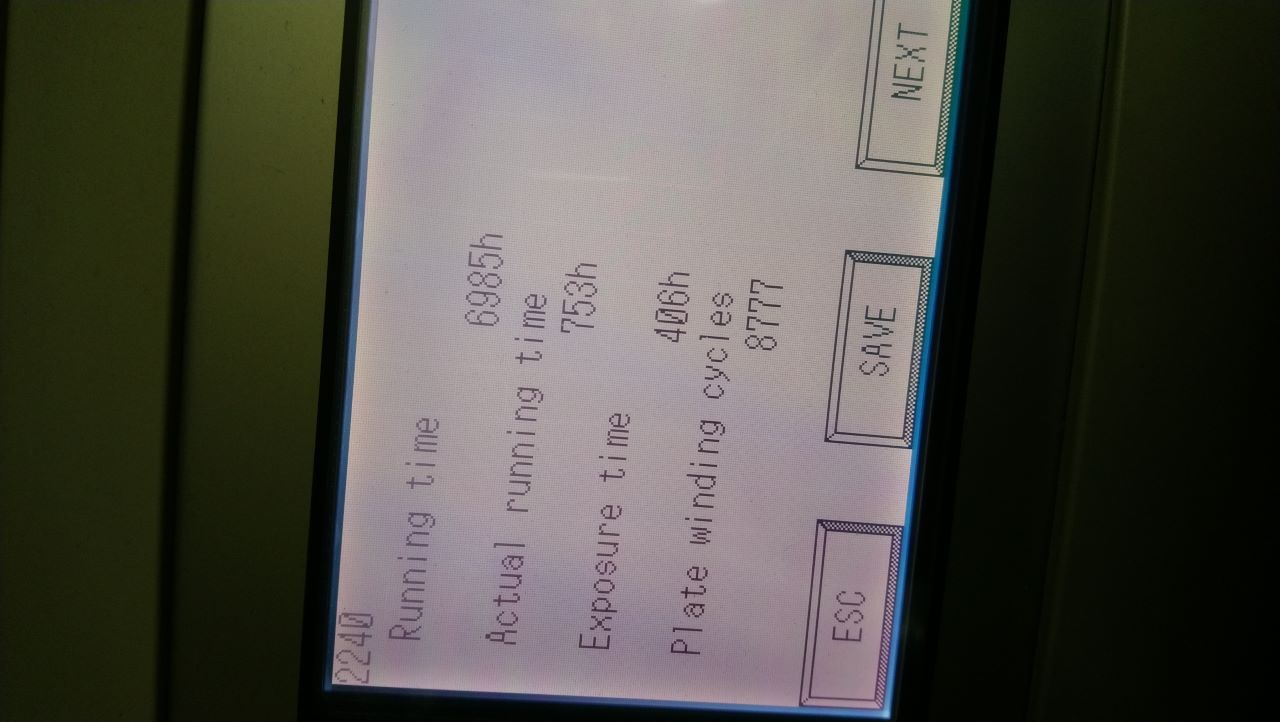 SCREEN 8300, Year : 2010, ref.67812 | www.coci-sa.com/en | 67812n_2.jpg