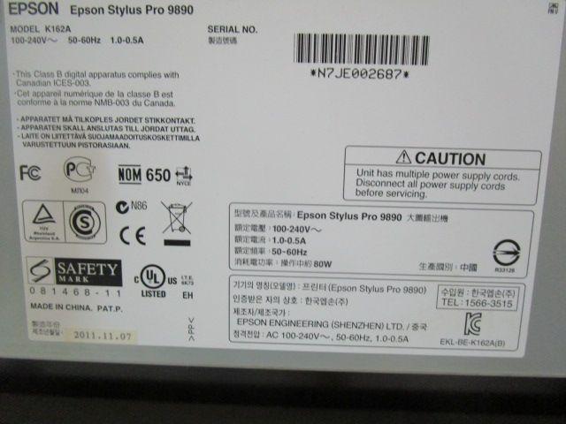 EPSON PRO 9900, Year : 2011, ref.68125 | www.coci-sa.com/en | 68125n_6.jpg