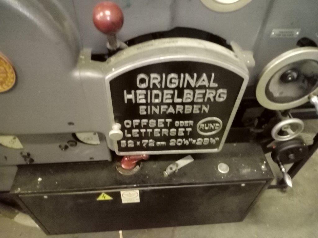 HEIDELBERG KORS, Year : 1972, ref.68155 | www.coci-sa.com/en | 68155n_1.jpg