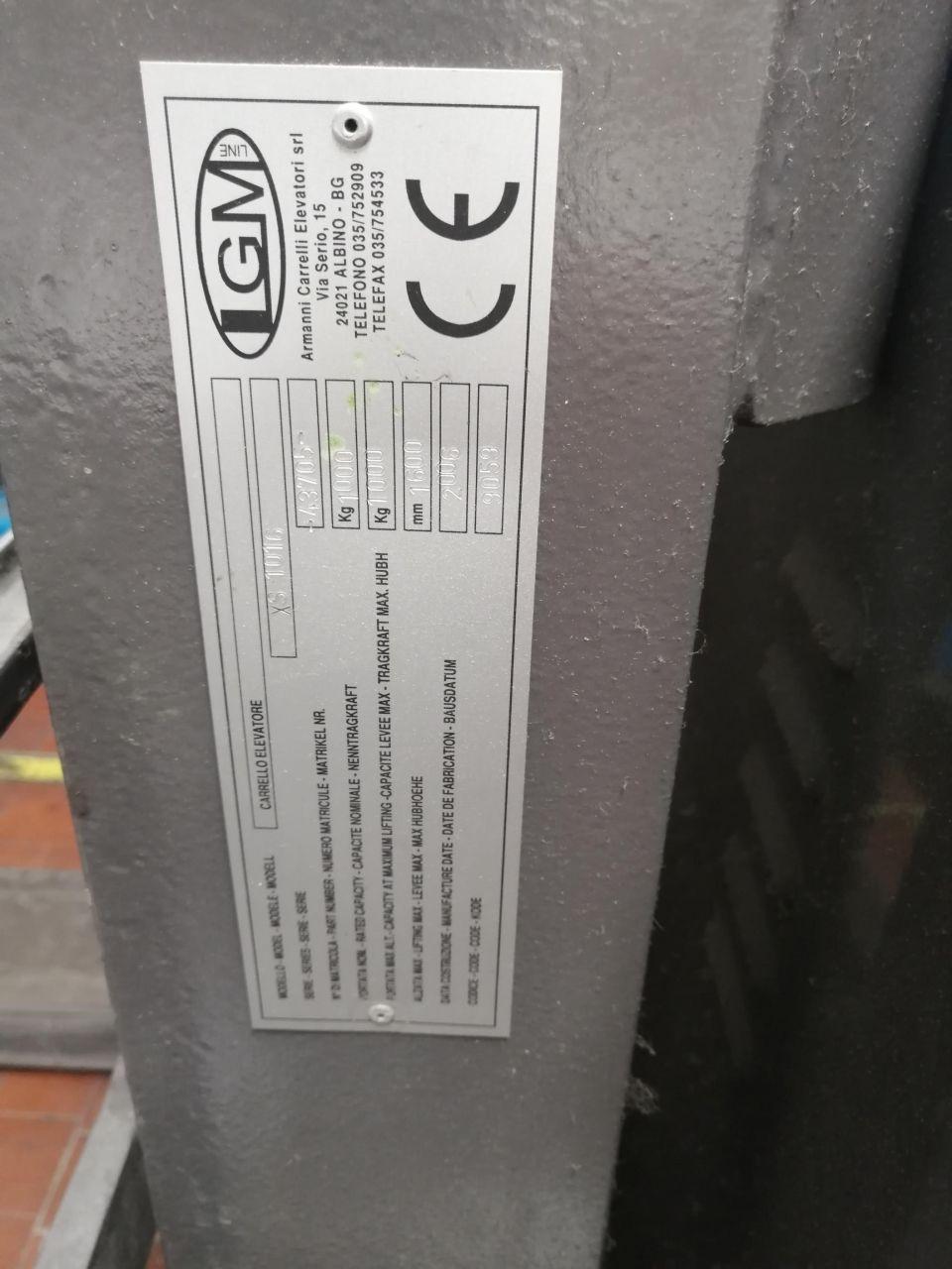 HANDLING-MATERIAL ELECTRIC PALLET TRUCK, 年份: 2006, ref.68308 | www.coci-sa.com/cn | 68308n_5.jpg