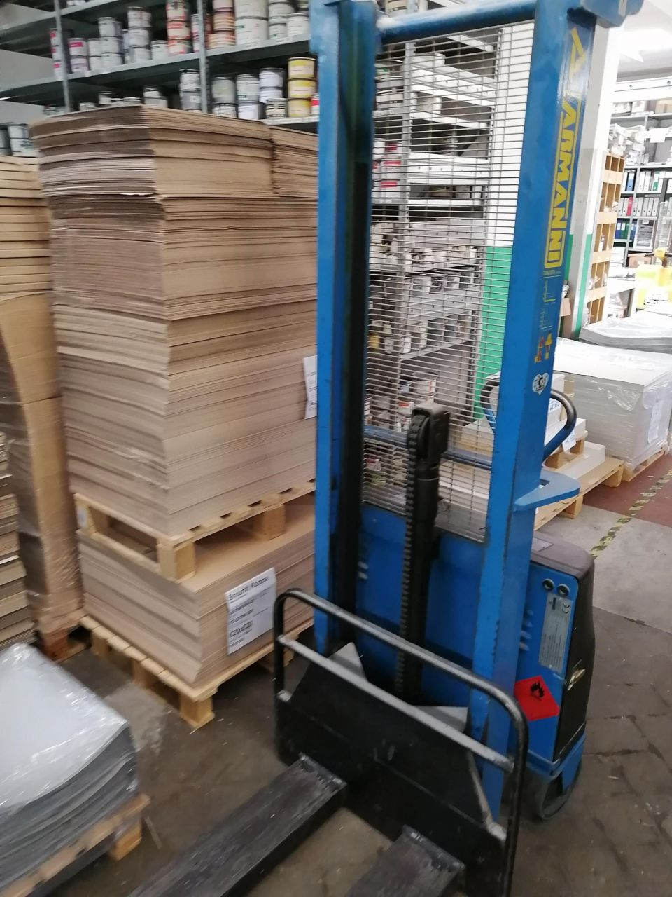 HANDLING-MATERIAL ELECTRIC PALLET TRUCK, Rocznik : 1996, ref.68334 | www.coci-sa.com/pl | 68334n_2.jpg