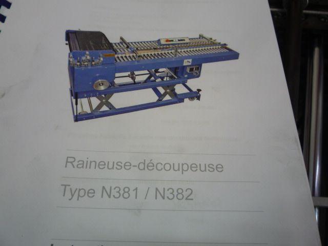 CREASING MACHINE, Year : 2011, ref.68418   www.coci-sa.com/en   68418n_2.jpg