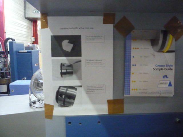 CREASING MACHINE, Year : 2011, ref.68418   www.coci-sa.com/en   68418n_5.jpg