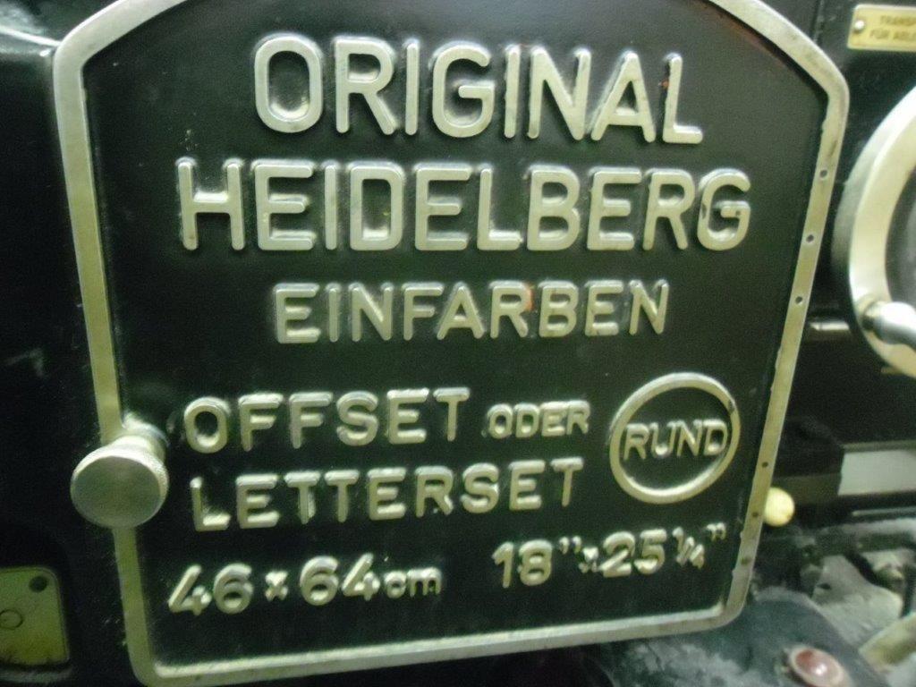 HEIDELBERG KORD 64, Year : 1968, ref.68462 | www.coci-sa.com/en | 68462n.jpg