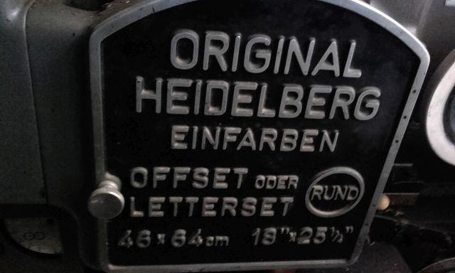 HEIDELBERG KORD 64, Year : 1968, ref.68657 | www.coci-sa.com/en | 68657n_2.jpg