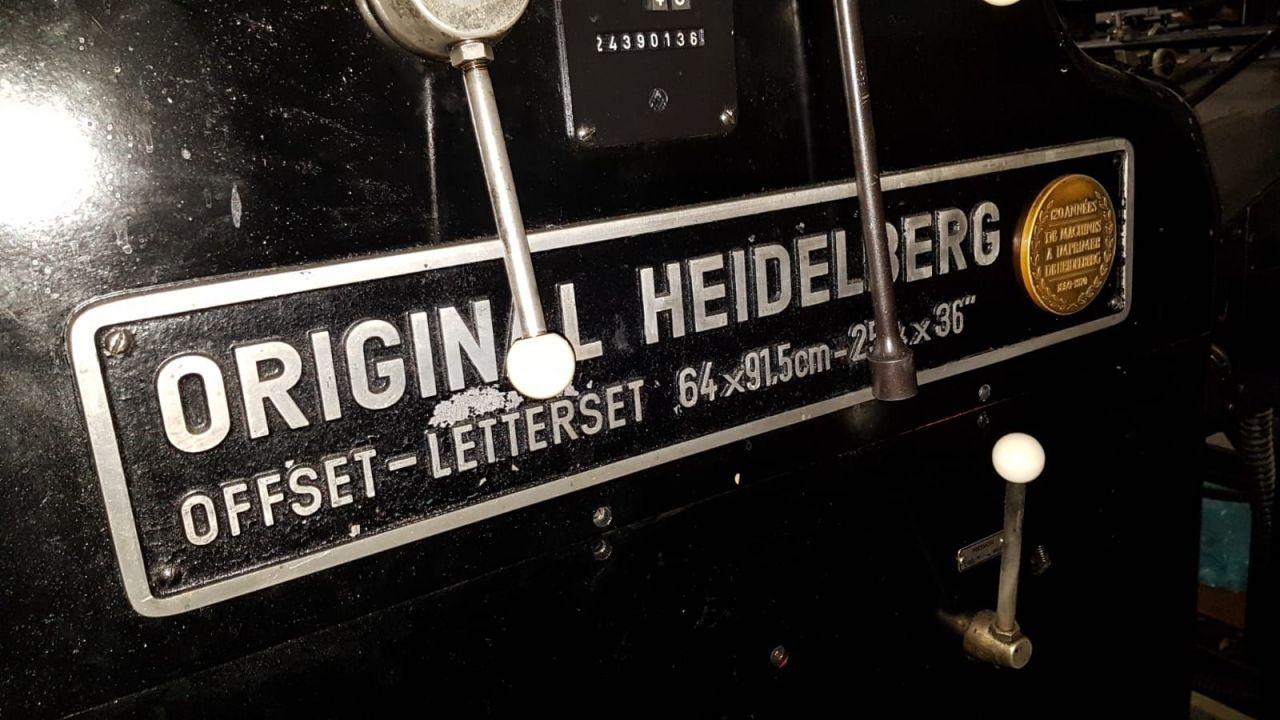 HEIDELBERG SORD, Year : 1971, ref.68714   www.coci-sa.com/en   68714n_1.jpg