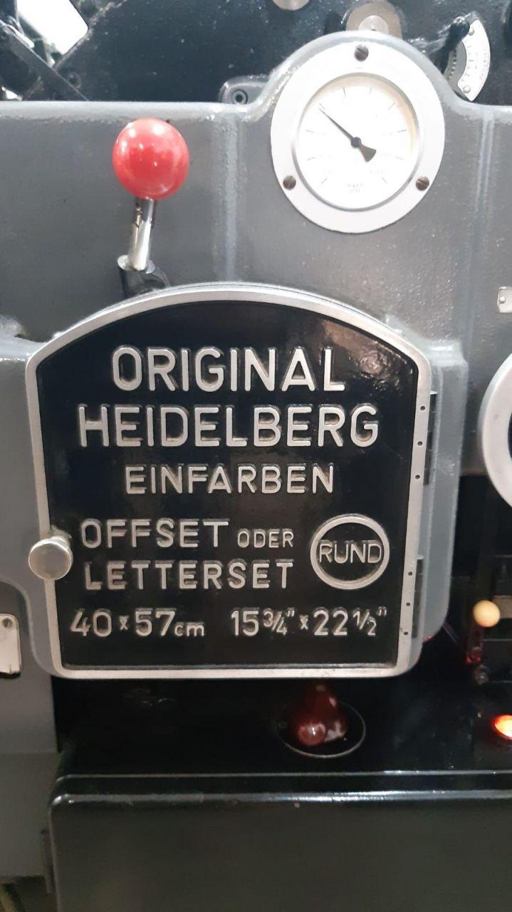 HEIDELBERG KOR, Year : 1968, ref.68864 | www.coci-sa.com/en | 68864n_1.jpg