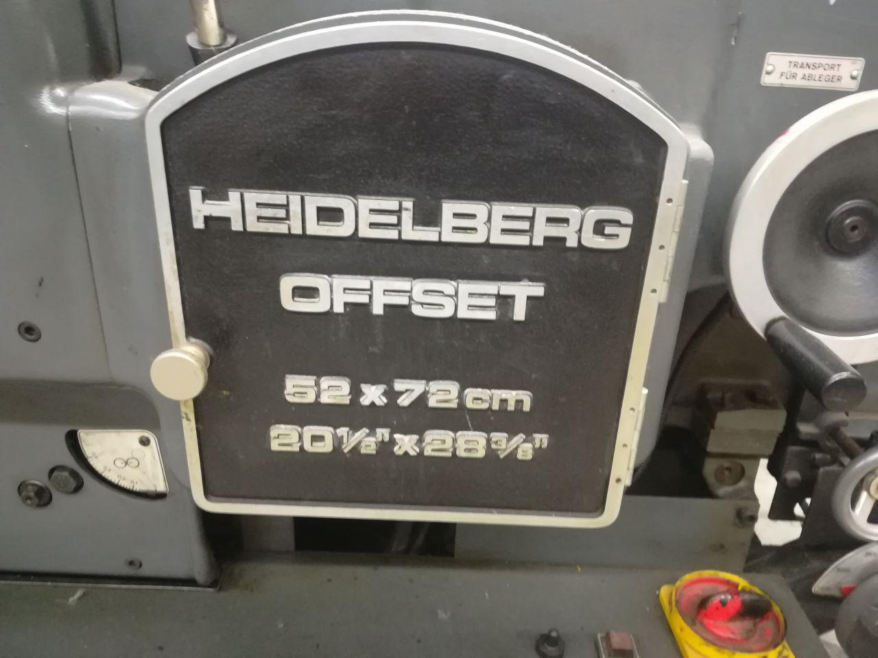 HEIDELBERG KORS, Year : 1979, ref.69020   www.coci-sa.com/en   69020n_1.jpg