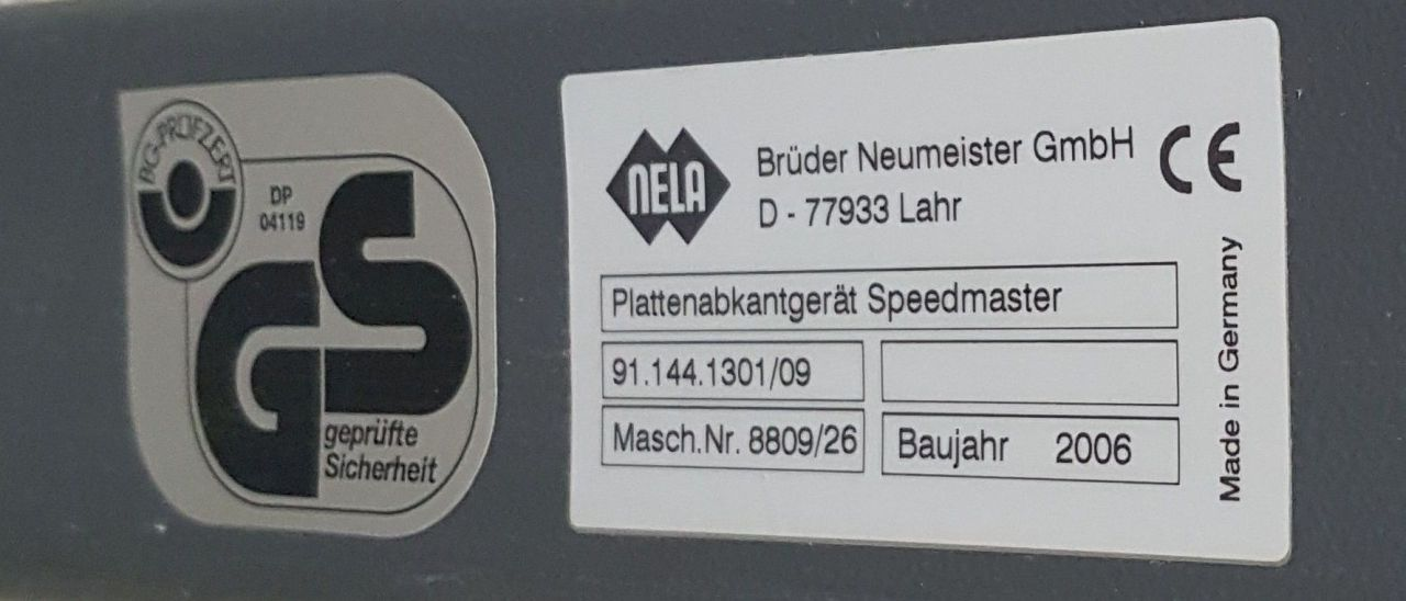 BENDER SM 74 102, Year : 2006, ref.69276 | www.coci-sa.com/en | 69276n.jpg
