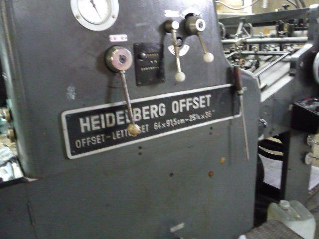 HEIDELBERG SORD, Year : 1974, ref.69311   www.coci-sa.com/en   69311n.jpg